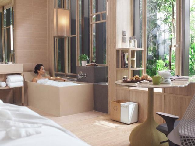 Mẫu thiết kế phòng tắm mở khiến bạn mê mẩn - Ảnh 13.