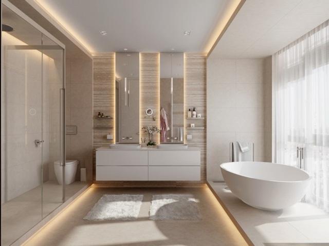 Mẫu thiết kế phòng tắm mở khiến bạn mê mẩn - Ảnh 10.