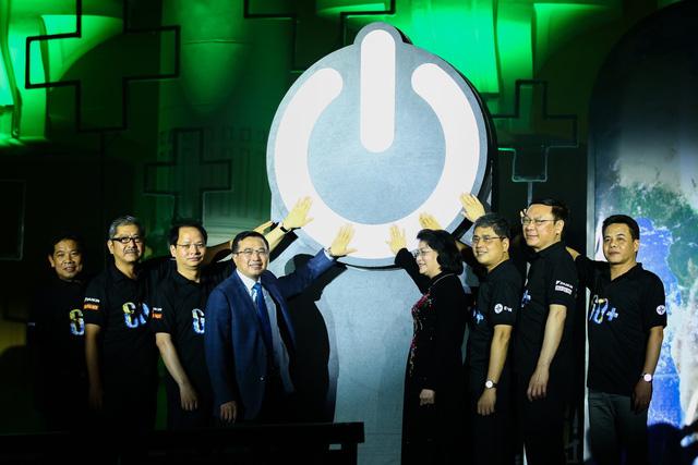 Hình ảnh ấn tượng của Lễ Tắt đèn hưởng ứng Giờ Trái đất 2019 tại Hà Nội - Ảnh 1.