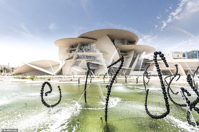 Bảo tàng quốc gia Qatar chính thức mở cửa sau 10 năm - Ảnh 3.