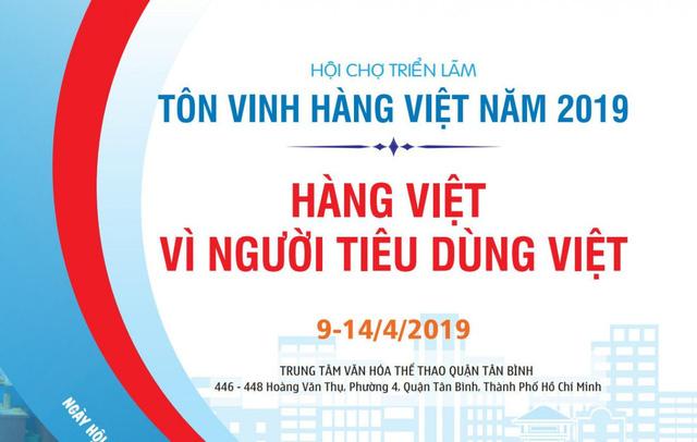 Hội chợ Triển lãm Tôn vinh hàng Việt - Ảnh 1.