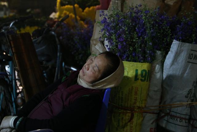 Đêm không ngủ ở chợ hoa nổi tiếng Hà Nội - Ảnh 11.