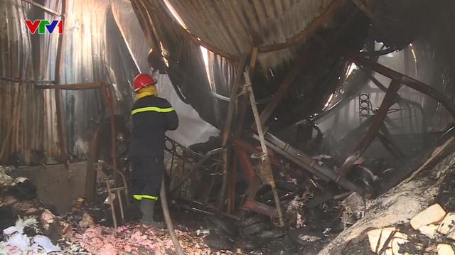 Gia đình 4 người thiệt mạng trong vụ cháy nhà xưởng ở Hà Nội - ảnh 1