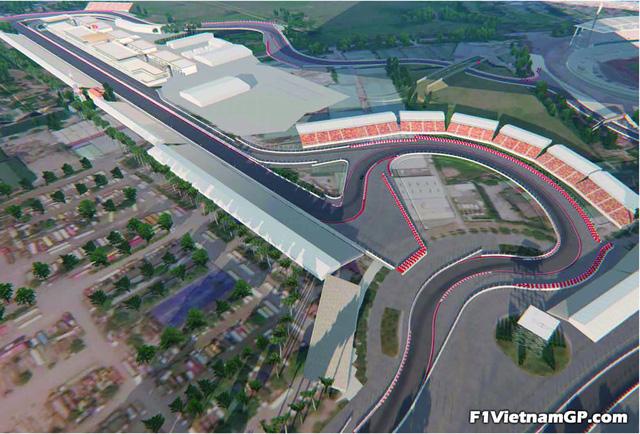 Phối cảnh 3D của đường đua công thức 1 Việt Nam Grand Prix - Ảnh 4.