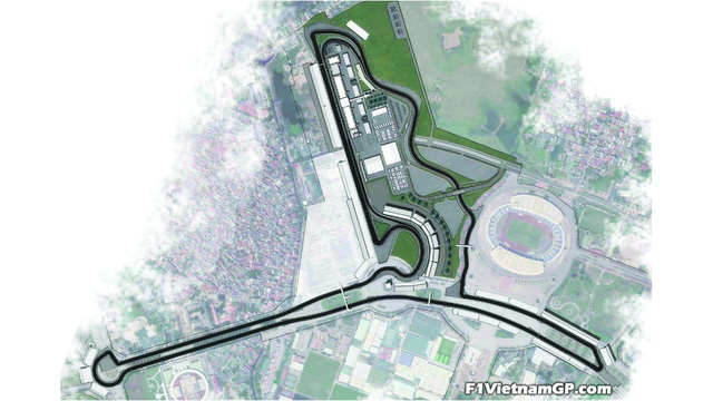 Phối cảnh 3D của đường đua công thức 1 Việt Nam Grand Prix - Ảnh 2.
