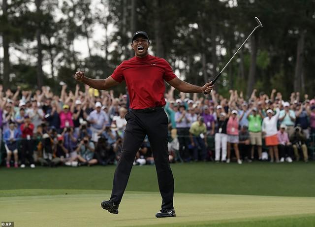 Tiger Woods lần thứ 5 vô địch The Masters - Ảnh 3.