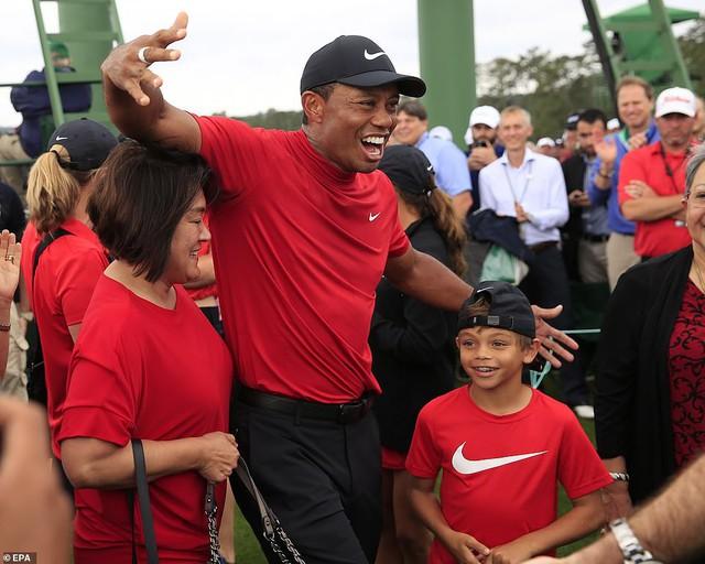Tiger Woods lần thứ 5 vô địch The Masters - Ảnh 6.