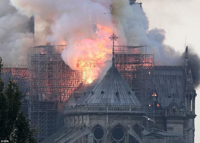 Vì sao không thể chữa cháy Nhà thờ Đức Bà Paris nhanh hơn? - Ảnh 1.
