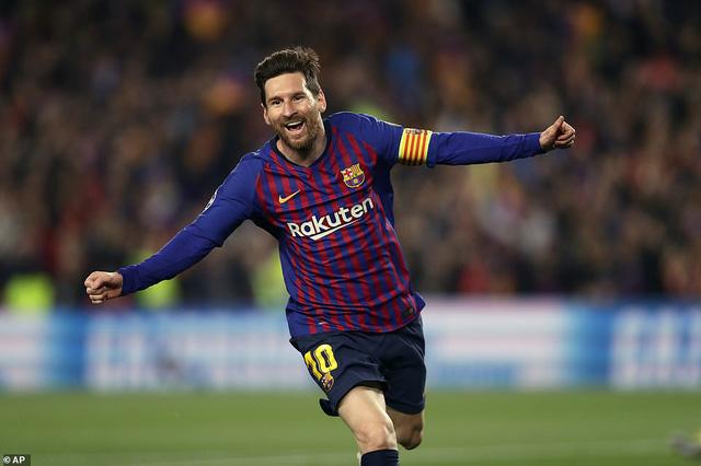 Messi giải khát tứ kết, Barca vùi dập Man Utd để đi tiếp - Ảnh 1.