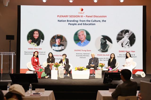 """MC Huyền Châu: """"Văn hóa là nền tảng tạo nên thương hiệu quốc gia"""" - Ảnh 1."""
