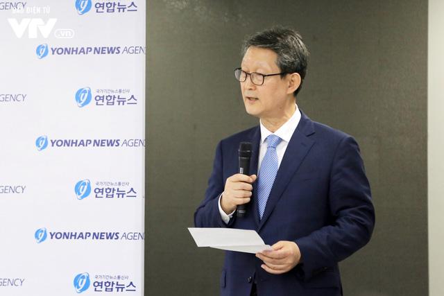 Hãng thông tấn Yonhap (Hàn Quốc) khai trương Văn phòng khu vực Đông Nam Á tại Hà Nội - Ảnh 2.