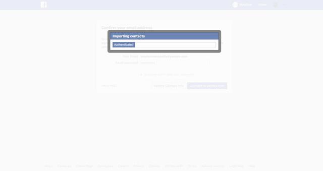 Facebook nói đã vô tình thu thập danh bạ của 1,5 triệu người dùng - Ảnh 2.