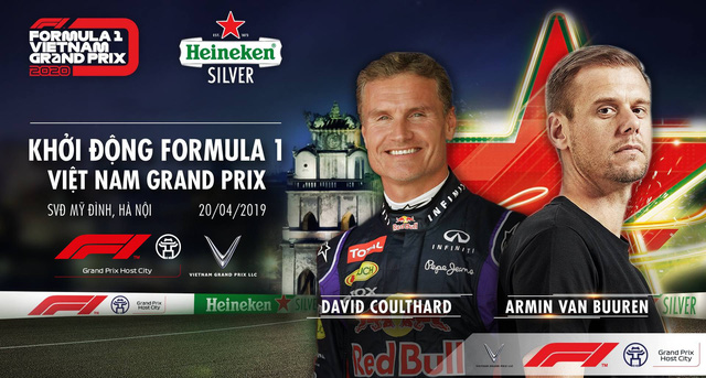 Khởi động Formula 1 Việt Nam Grand Prix 2020: Chờ đón lễ hội mang đậm màu sắc F1 với đại tiệc âm nhạc - Ảnh 1.