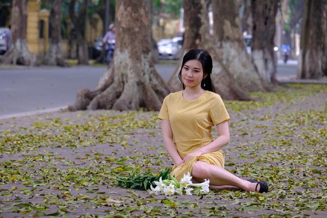 Hà Nội mùa lá sấu rụng - Ảnh 3.