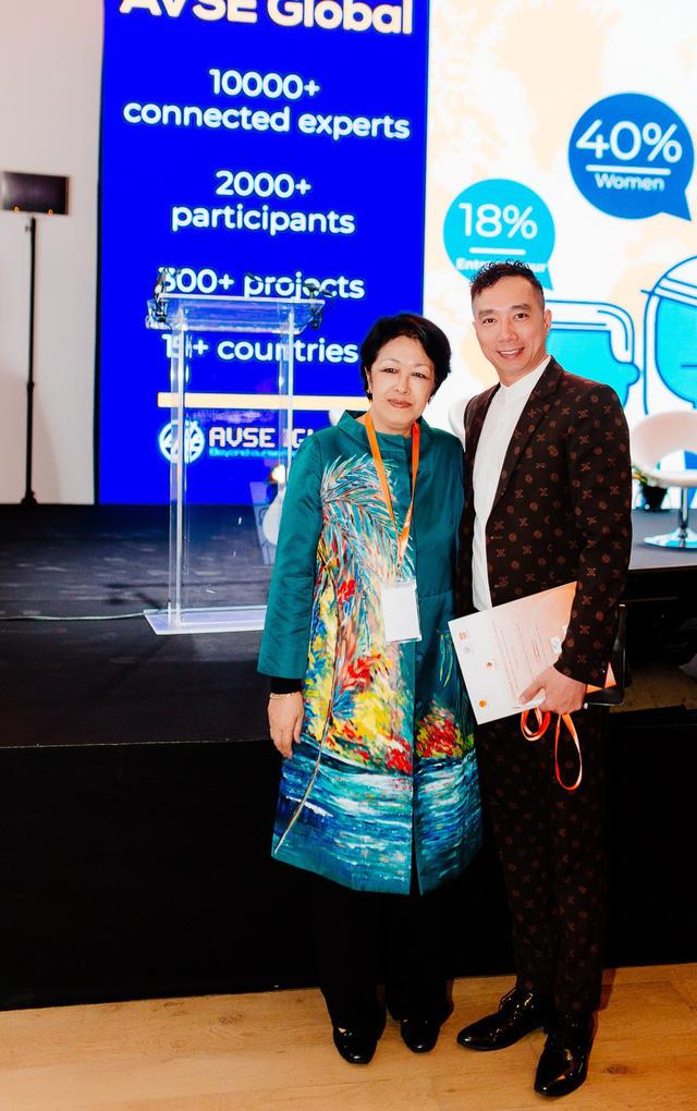 NTK Đỗ Trịnh Hoài Nam dự diễn đàn Người Việt có tầm ảnh hưởng tổ chức tại Paris - Ảnh 2.