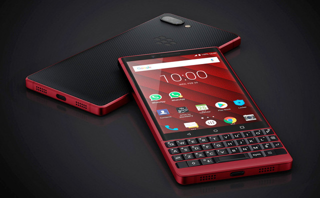 BlackBerry ra mắt KEY2 phiên bản màu đỏ cực chất - Ảnh 2.