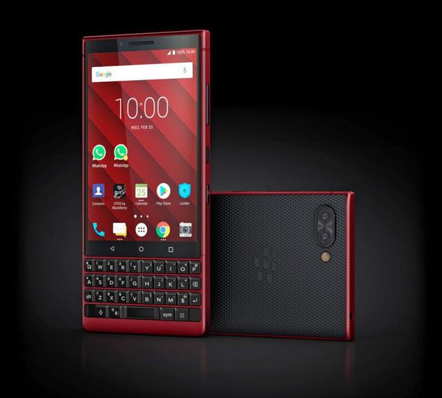 BlackBerry ra mắt KEY2 phiên bản màu đỏ cực chất - Ảnh 1.