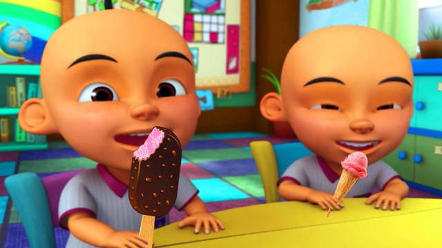 Upin & Ipin cặp song sinh huyền thoại tái xuất màn ảnh rộng - Ảnh 1.