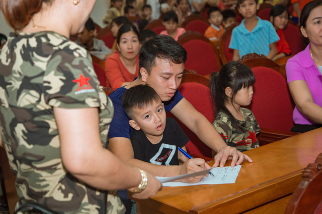 11 bệnh nhi tim bẩm sinh tại Phú Thọ được làm thủ tục hỗ trợ phẫu thuật miễn phí từ Trái tim cho em - Ảnh 14.