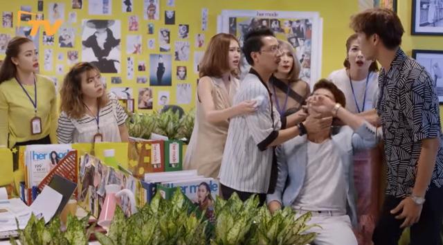 Mối tình đầu của tôi - Tập 52: Chết cười cảnh Minh Huy lại đến nhà Nam Phong tráng trứng - Ảnh 5.