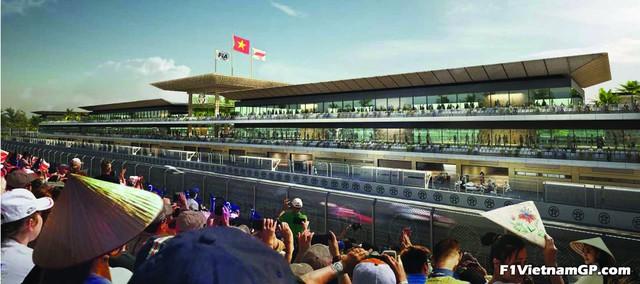 Phối cảnh 3D của đường đua công thức 1 Việt Nam Grand Prix - Ảnh 3.