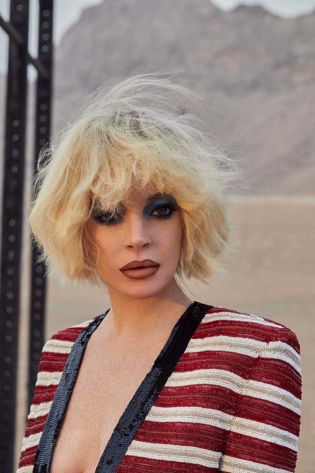 Lindsay Lohan đầy khác lạ trên Slimi tháng 4 - Ảnh 1.
