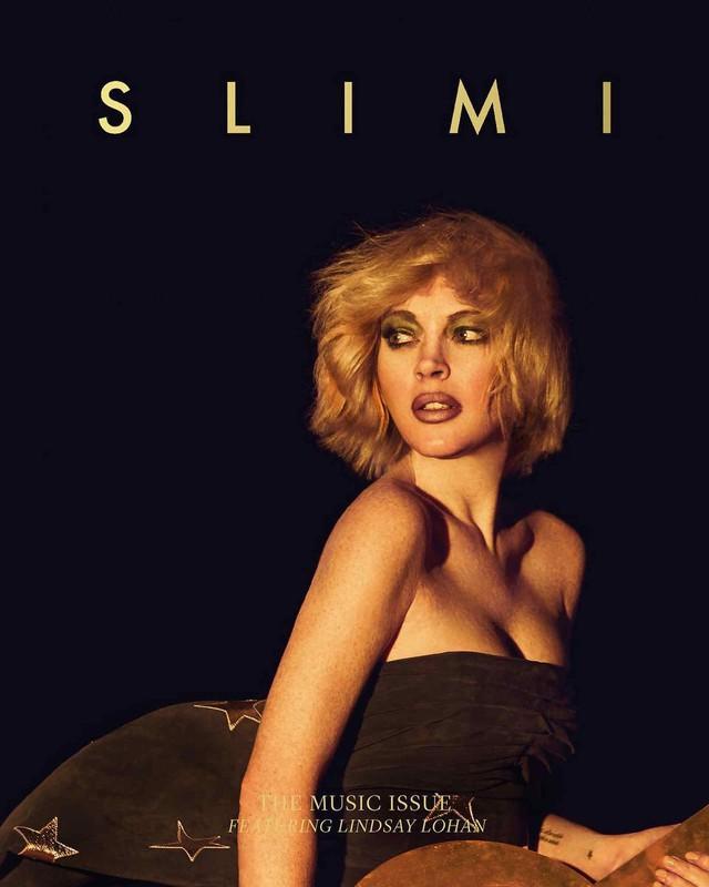 Lindsay Lohan đầy khác lạ trên Slimi tháng 4 - Ảnh 3.