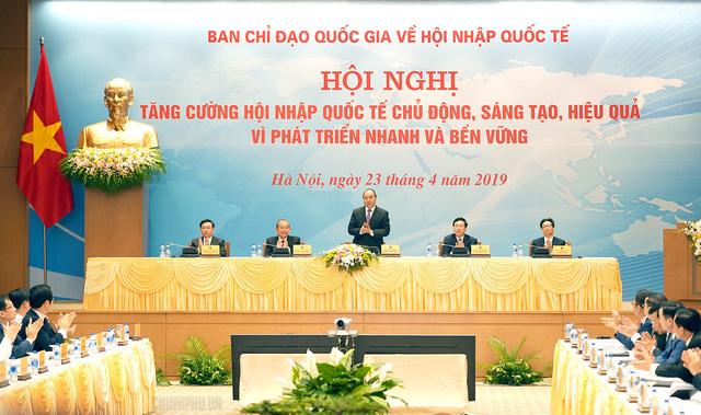 Thủ tướng chỉ ra phương châm về hội nhập quốc tế - Ảnh 1.