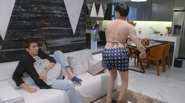 Những biểu cảm khó đỡ của B Trần trong phim Mối tình đầu của tôi - Ảnh 3.
