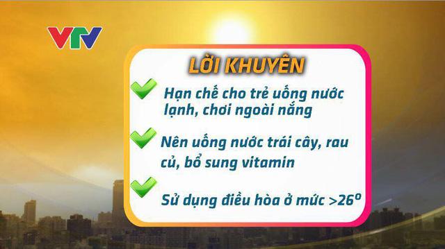 Lưu ý phòng bệnh cho trẻ trong thời điểm nắng nóng gay gắt - Ảnh 2.