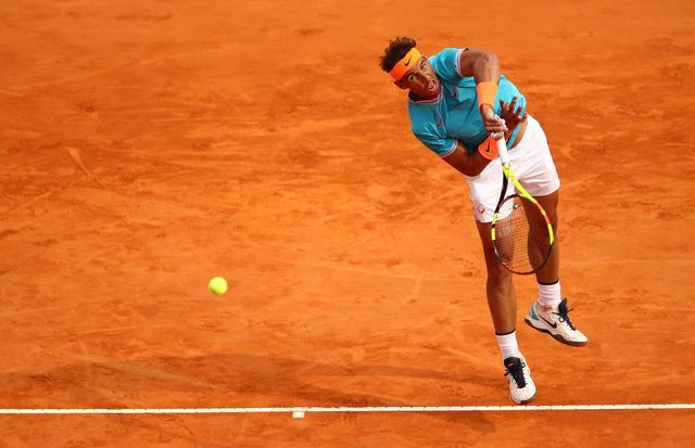 Vượt qua Ferrer, Nadal giành quyền vào tứ kết Barcelona mở rộng 2019 - Ảnh 3.
