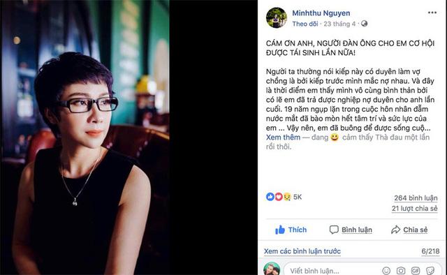 Dàn sao Việt xúc động trước tâm thư cảm ơn chồng cũ của mẹ đơn thân - Ảnh 1.