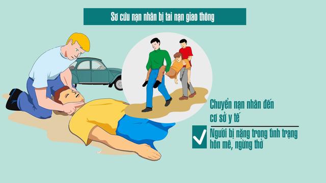 Sơ cứu nạn nhân bị tai nạn giao thông thế nào cho đúng? - Ảnh 4.