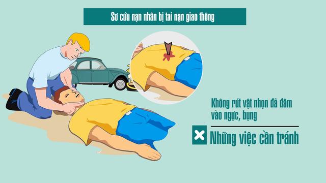 Sơ cứu nạn nhân bị tai nạn giao thông thế nào cho đúng? - Ảnh 7.