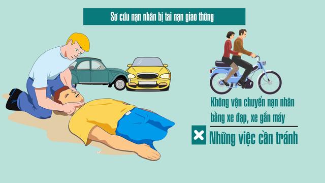 Sơ cứu nạn nhân bị tai nạn giao thông thế nào cho đúng? - Ảnh 10.