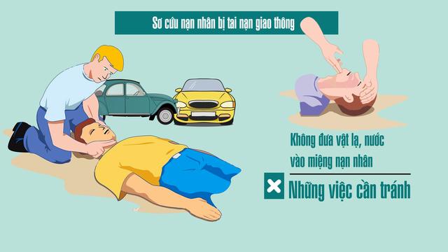 Sơ cứu nạn nhân bị tai nạn giao thông thế nào cho đúng? - Ảnh 11.