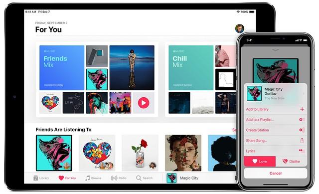 Apple Music và Spotify cạnh tranh về số lượng thuê bao trả phí ở Mỹ - Ảnh 1.