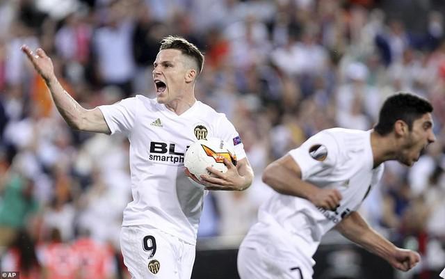 ẢNH: Arsenal thắng thuyết phục Valencia để giành quyền vào chung kết Europa League - Ảnh 10.