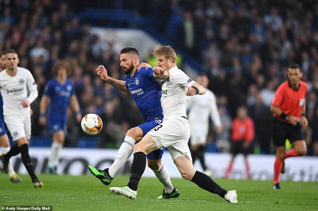 ẢNH: Chelsea nghẹt thở vượt qua Frankfurt, tiến vào chung kết Europa League - Ảnh 3.