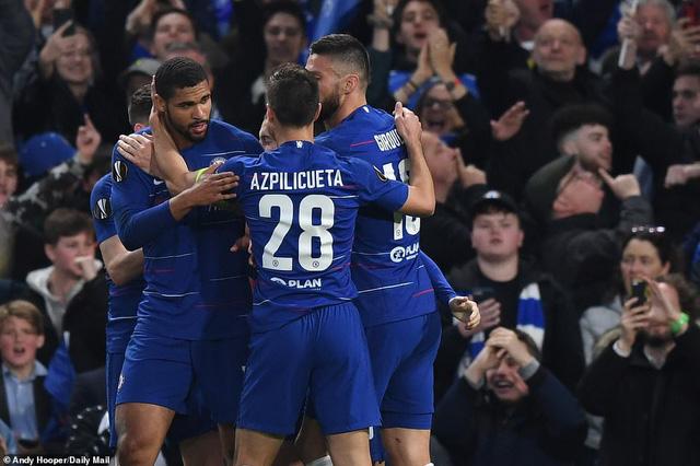 ẢNH: Chelsea nghẹt thở vượt qua Frankfurt, tiến vào chung kết Europa League - Ảnh 6.