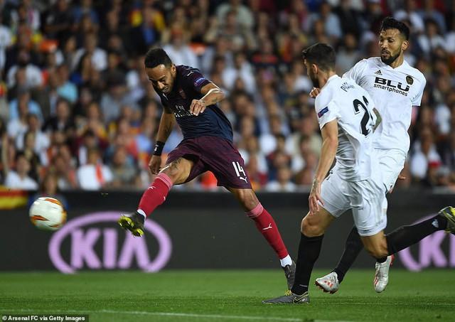 ẢNH: Arsenal thắng thuyết phục Valencia để giành quyền vào chung kết Europa League - Ảnh 5.