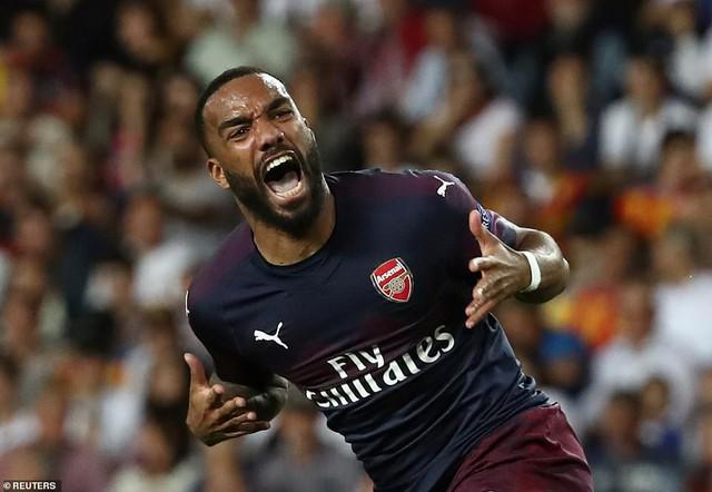 ẢNH: Arsenal thắng thuyết phục Valencia để giành quyền vào chung kết Europa League - Ảnh 8.