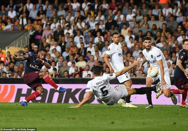 ẢNH: Arsenal thắng thuyết phục Valencia để giành quyền vào chung kết Europa League - Ảnh 7.