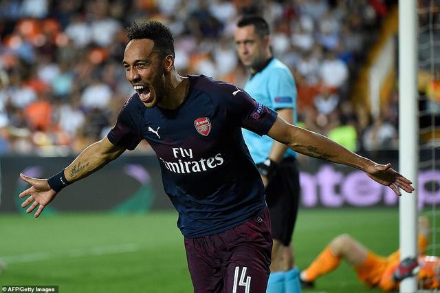 ẢNH: Arsenal thắng thuyết phục Valencia để giành quyền vào chung kết Europa League - Ảnh 12.