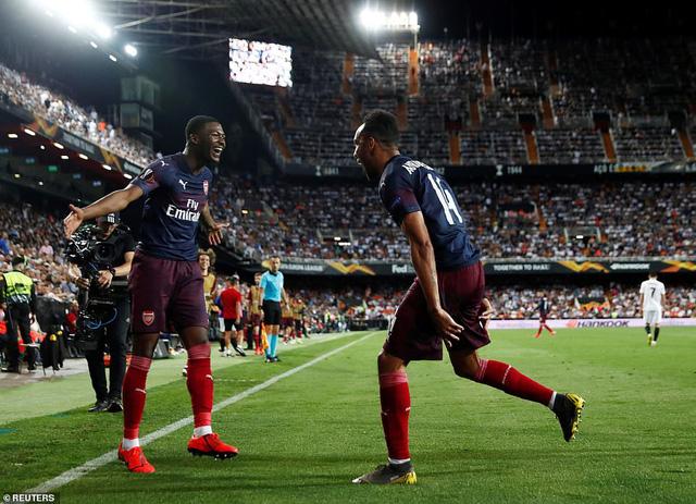 ẢNH: Arsenal thắng thuyết phục Valencia để giành quyền vào chung kết Europa League - Ảnh 13.
