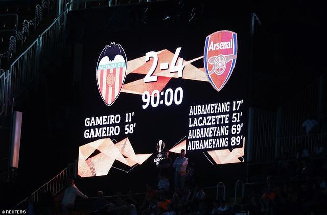 ẢNH: Arsenal thắng thuyết phục Valencia để giành quyền vào chung kết Europa League - Ảnh 15.