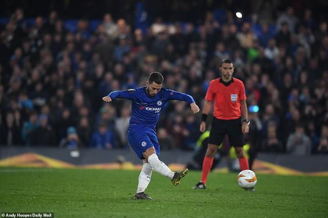 ẢNH: Chelsea nghẹt thở vượt qua Frankfurt, tiến vào chung kết Europa League - Ảnh 14.