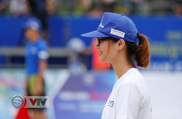 Ảnh: Những khoảnh khắc ấn tượng tại giải bóng chuyền bãi biển nữ thế giới Tuần Châu - Hạ Long 2019 ngày 10/5 - Ảnh 7.