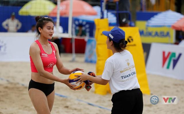 Ảnh: Những khoảnh khắc ấn tượng tại giải bóng chuyền bãi biển nữ thế giới Tuần Châu - Hạ Long 2019 ngày 10/5 - Ảnh 6.