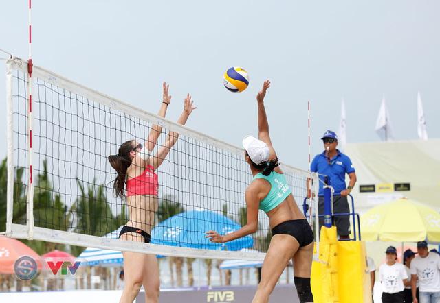 Ảnh: Những khoảnh khắc ấn tượng tại giải bóng chuyền bãi biển nữ thế giới Tuần Châu - Hạ Long 2019 ngày 10/5 - Ảnh 15.